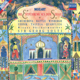 ENTFUHRUNG AUS DEM W/GRUBEROVA, WIENER PHILHARMONIKER, SIR GEORG SOLTI Audio CD, W.A. MOZART, CD