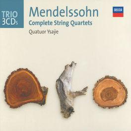 COMPLETE STRING QUARTETS QUATUOR YSAYE Audio CD, MENDELSSOHN-BARTHOLDY, F., CD