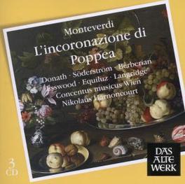 POPPEA NIKOLAUS HARNONCOURT Audio CD, C. MONTEVERDI, CD