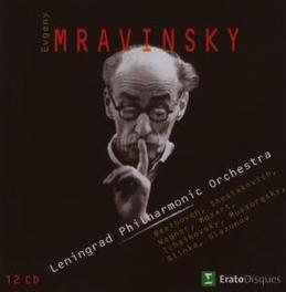 EVGENY MRAVINSKY *BOX* LENINGRADO P.O./EVGENY MRAVINSKY Audio CD, EVGENY MRAVINSKY, CD