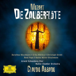 DIE ZAUBERFLOTE MAHLER CHAMBER ORCHESTRA/CLAUDIO ABBADO/ROSCHMANN Audio CD, W.A. MOZART, CD