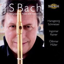 SONATAS FOR FLUTE & CONTI H.SCHMEISER/I.RAINER/O.MUELLER Audio CD, J.S. BACH, CD