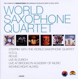 COMPLETE BLACK SAINT/SOUL WORLD SAXOPHONE QUARTET, CD
