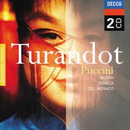 TURANDOT W/INGE BORKH, RENATA TEBALDI, MARIO DEL MONACO, A.EREDE Audio CD, G. PUCCINI, CD