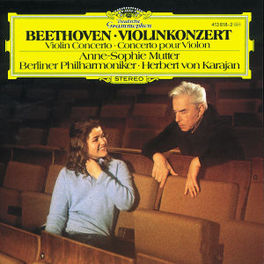 CONC.FOR VIOLIN&ORCH. MUTTER/BP/KARAJAN Audio CD, L. VAN BEETHOVEN, CD