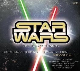 STARWARS THE STORY ... ...CONTINUES (EPISODES 1-6) Audio CD, GLOBAL STAGE ORCHESTRA, CD