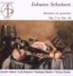 SONATES FOR HARPSICHORD & W/LYDIE BONNETON, JAROSLAW ADAMUS, DOMINIQUE MANIERE Audio CD, J. SCHOBERT, CD