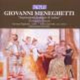 CONCERTI E SONATE ARCHICEMBALO ENSEMBLE Audio CD, G. MENEGHETTI, CD