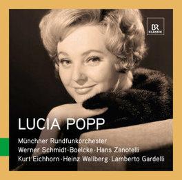 GREAT SINGERS LIVE MUNCHNER RUNDFUNKORCHESTER LUCIA POPP, CD