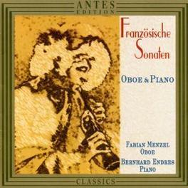 FRANZOSISCHE SONATEN FUR ..OBOE & KLAVIER / F.MENZEL/B.ENDRES Audio CD, SAINT-SAENS/BREVILLE/MIHA, CD