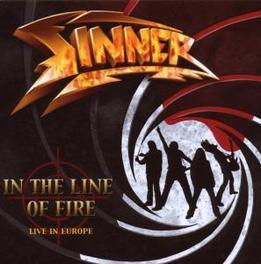 IN THE LINE OF FIRE -RE- LIVE IN EUROPE / REMASTERED + 4 BONUSTRACKS Audio CD, SINNER, CD