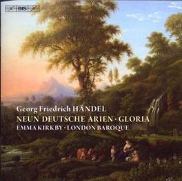 NEUN DEUTSCHE.. LONDON BAROQUE/KIRKBY Audio CD, G.F. HANDEL, CD