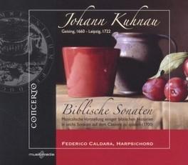 BIBLISCHE SONATEN FEDERICO CALDARA J. KUHNAU, CD
