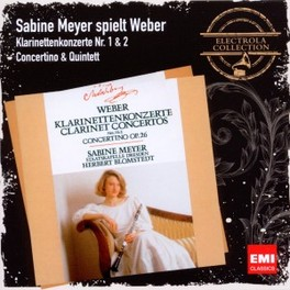 CLARINET CONCERTO, CONCER SABINE MEYER C.M. VON WEBER, Audio Visuele Media
