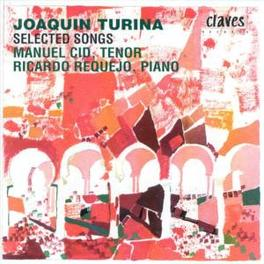 SELECTED SONGS VOL.5 W/MANUEL CID-TENOR, RICARDO REQUEJO-PIANO J. TURINA, CD