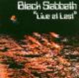 LIVE AT LAST Audio CD, BLACK SABBATH, CD