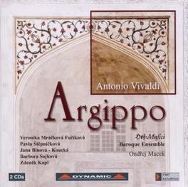 ARGIPPO HOFMUSICI BAROQUE ENSEMBLE/ONDREJ MACEK Audio CD, A. VIVALDI, CD