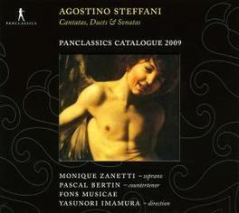 CANTATAS, DUETS & SONATAS FONS MUSICAE Audio CD, A. STEFFANI, CD