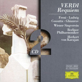 REQUIEM/TE DEUM W/MIRELLA FRENI, CHRISTA LUDWIG, KARAJAN, BERLINER PHIL Audio CD, VERDI/BRUCKNER, CD