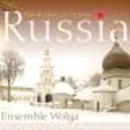 RUSSIA-BALALAIKAS & SONGS Audio CD, ENSEMBLE WOLGA, CD