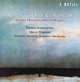 ROMANTIC HOBO CONCERTOS ESTONIAN S.O./TURKOVIC Audio CD, HUMMEL/KALLIWODA/RIETZ, CD