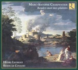 RENDEZ-MOI MES PLAISIRS RICERCAR CONSORT/HENRI LEDROIT Audio CD, M.A. CHARPENTIER, CD