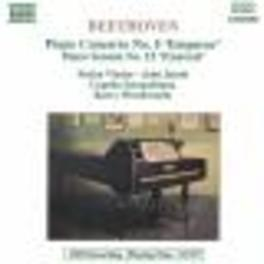 PIANO CONCERTO 5 EMPEROR PIANO SONATA PASTORAL STEFAN VLADAR/BARRY WORDSWORTH/CA L. VAN BEETHOVEN, CD