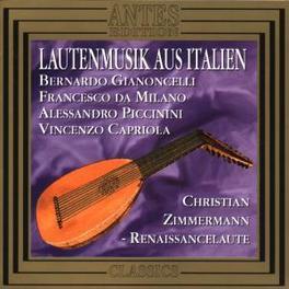 LAUTENMUSIK AUS ITALIEN Audio CD, V/A, CD