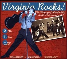 VIRGINIA ROCKS -HISTORY.. .. OF ROCKABILLY // FT. ROY HALL/ROY CLARK/A.O. Audio CD, V/A, CD