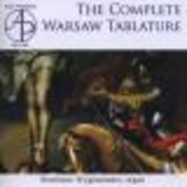 COMPLETE WARSAW TABLATURE Audio CD, ROSTISLAW WYGRANIENKO, CD