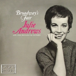 BROADWAY'S FAIR JULIE ANDREWS, CD