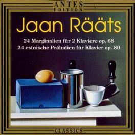 KLAVIERMUSIK Audio CD, J. RAATS, CD