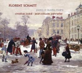 PIANO A QUATRE MAINS IVALDI/PENNETIER F. SCHMITT, CD