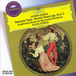 SLAVONIC DANCES NO.1-8 W/RAFAEL KUBELIK, BAYERN RUNDFUNKS Audio CD, A. DVORAK, CD