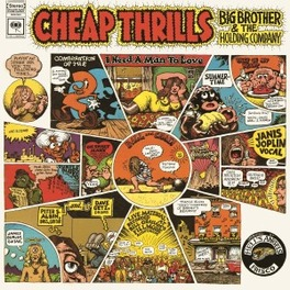 CHEAP THRILLS -HQ- 180GR. AUDIOPHILE VINYL JANIS JOPLIN, Vinyl LP