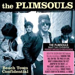 BEACH TOWN CONFIDENTIAL PREVIOUSLY UNRELEASED '83 LIVE SHOW AT HUNTINGTON BEACH PLIMSOULS, Vinyl LP