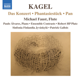DAS KONZERT:WORKS FOR FLU SINFONIA FINLANDIA/MICHAEL FAUST M. KAGEL, CD