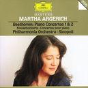 PIANO CONCERTOS NO.1&2 W/ARGERICH, PHIL.ORCHESTRA, G.SINOPOLI
