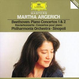 PIANO CONCERTOS NO.1&2 W/ARGERICH, PHIL.ORCHESTRA, G.SINOPOLI Audio CD, L. VAN BEETHOVEN, CD