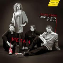 STRING QUARTETS OP.55.. META4 STRING QUARTET Audio CD, J. HAYDN, CD