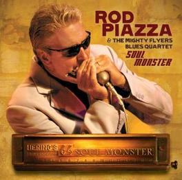 SOUL MONSTER Audio CD, PIAZZA, ROD & THE MIGHTY, CD