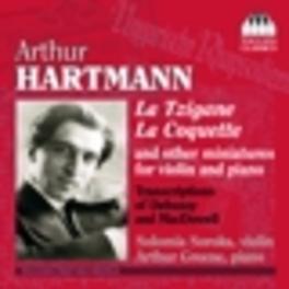 LA TZIGANE/LA COQUETTE & PIANO Audio CD, A. HARTMANN, CD