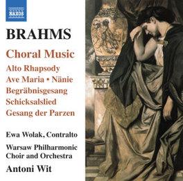 CHORAL MUSIC ANTONI WIT J. BRAHMS, CD