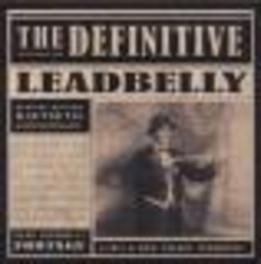 DEFINITIVE.. -CD+DVD- .. LEADBELLY DVD, LEADBELLY, CD