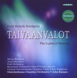 TAIVAANVALOT:LIGHTS OF HE OSTROBOTHNIAN CHAMBER ORCHESTRA Audio CD, P.H. NORDGREN, CD