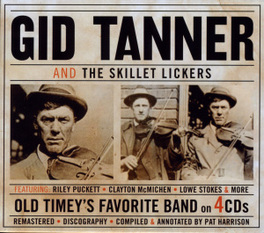 AND THE SKILLET LICKERS GID TANNER, CD