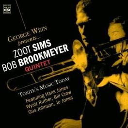 TONITE'S MUSIC TODAY GEORGE WEIN PRESENTS... Audio CD, ZOOT/BOB BROOKMEYER SIMS, CD