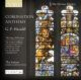 CORONATION ANTHEMS THE SIXTEEN//CHRISTOPHERS, H. Audio CD, GEORGE FRIDERIC HANDEL, CD