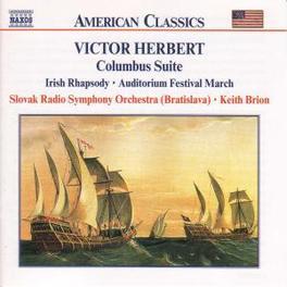 COLUMBUS SUITE SLOVAK RADIO SYMPHONY ORCH./K. BRION V. HERBERT, CD