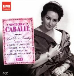 GREAT OPERATIC RECORDINGS Audio CD, MONTSERRAT CABALLE, CD